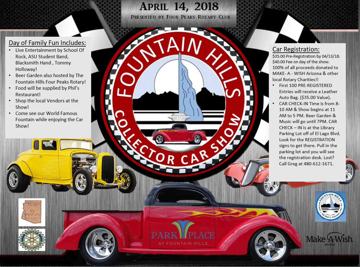 Fountain Hills Collector Car Show